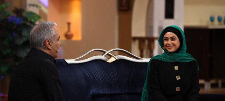 عکس: خانم بازیگر مهمان فردا شب مهران مدیری