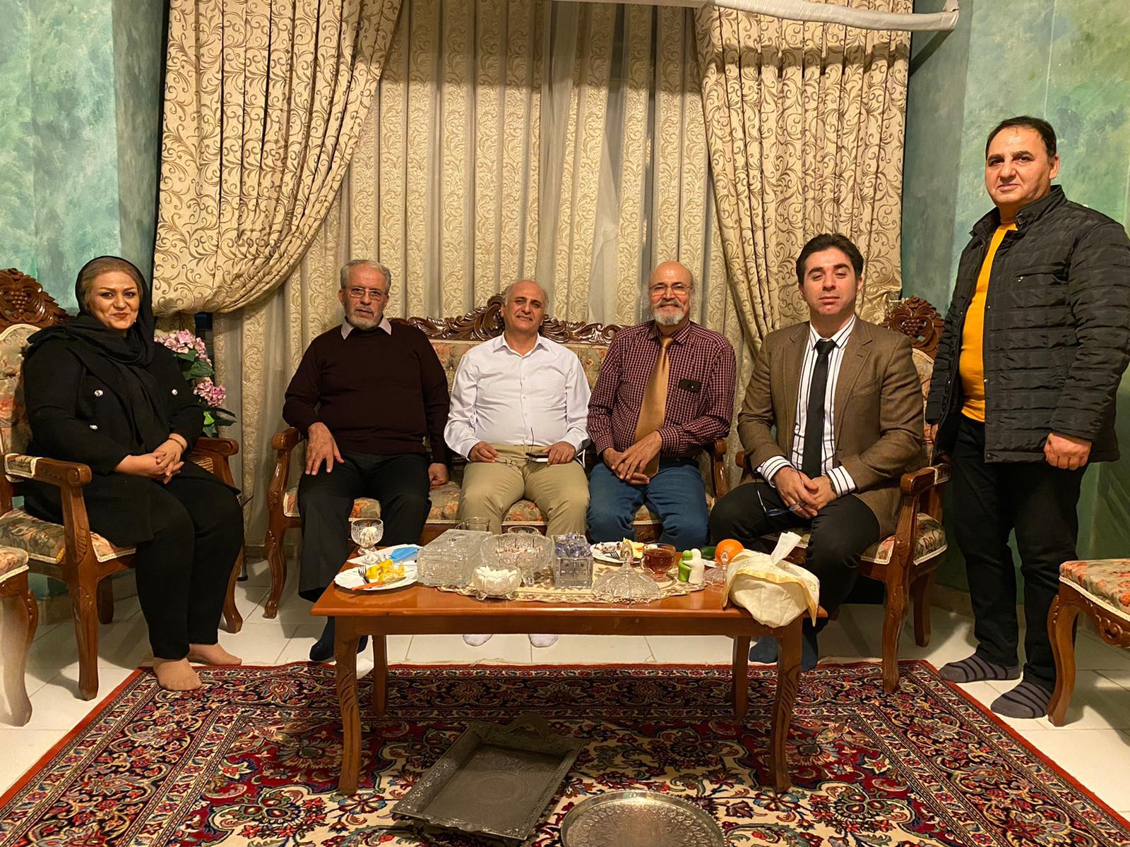 سیدجلال محمدیان-امید دارابی- نادر دارستانی- جهانشاه باباخانی- عبدالرضا رادفر