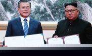رهبران دو کره توافقنامه اجلاس سران را امضا کردند