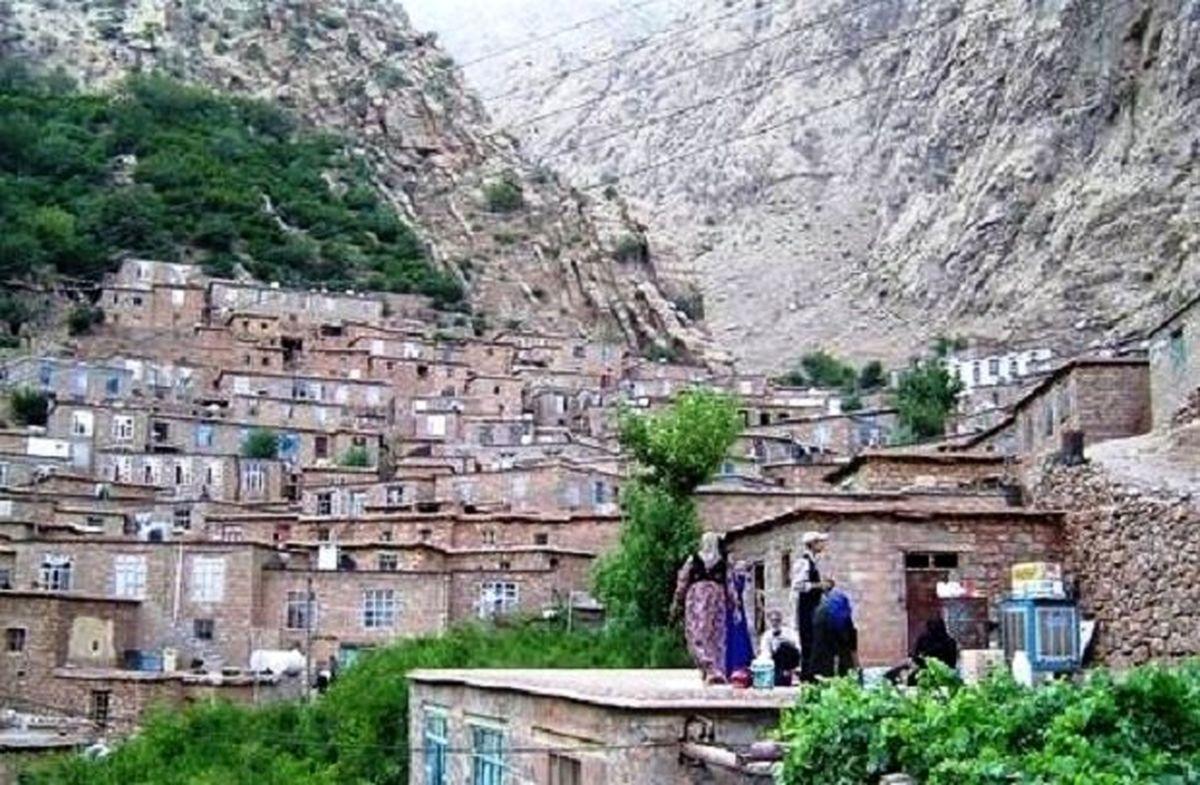 لذت آرامش در آبادی های کرمانشاه/ وقتی بام خانه ایوان همسایه است