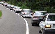ترافیک نیمه سنگین در چهار محور مواصلاتی