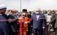 افتتاح فاز اول تقاطع غیر هم سطح امام خمینی (ره) شهر کرمانشاه