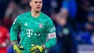 نویر بهترین بازیکن سال 2020 آلمان شد