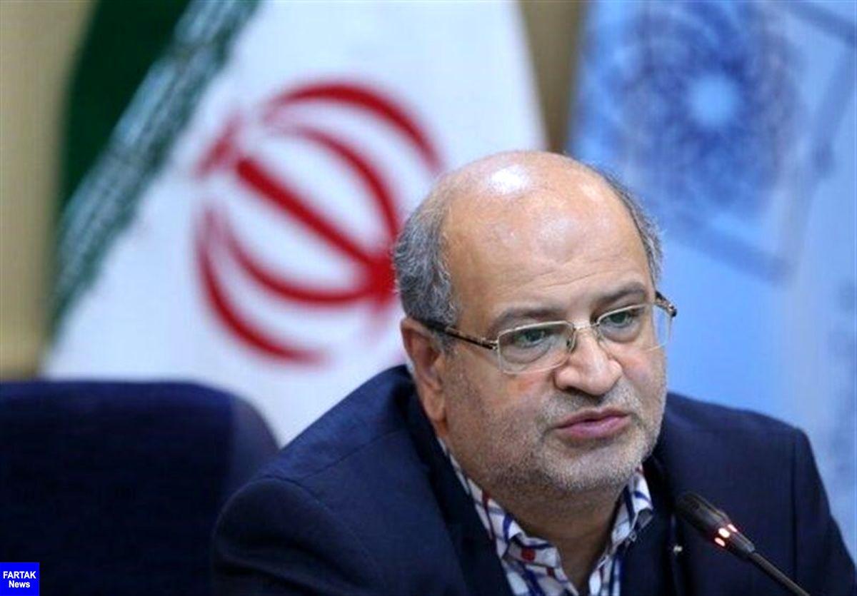 زالی خواستار تمدید اعمال محدودیت ها در تهران شد