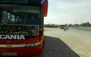 استقرار ناوگان اتوبوسرانی از آغاز خروج زائرین اربعین حسینی در پایانه مرزی خسروی