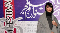 لباس بازیگر زن جوان در جشنواره فجر سوژه شد