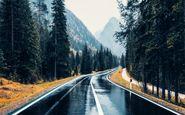 ترافیک سنگین در مسیر جنوب به شمال محور کندوان/ باران در جادههای ۲ استان