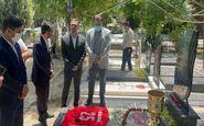 ادای احترام باشگاه به درگذشتگان پرسپولیس