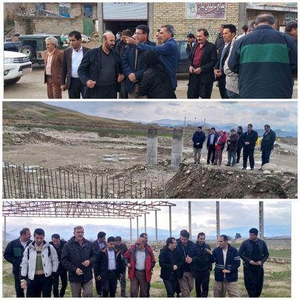 بازدید فرماندار چرداول از زیرساختهای بخش هلیلان