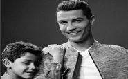 پای پسر رونالدو هم به دنیای مُد باز شد +تصاویر