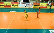 خلاصه فوتسال هایپرشهر 1 - 1 آذرخش + فیلم