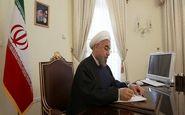 روحانی فرا رسیدن روز ملی روسیه را تبریک گفت