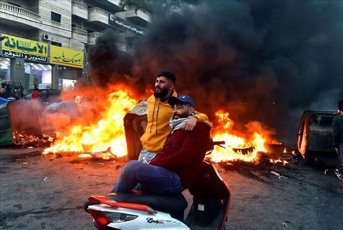 ادامه اعتراضات لبنانیها علیه اوضاع بد معیشتی