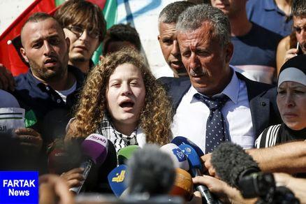 عهد التمیمی: از زندانی شدن به خاطر سفر به ایران نمی ترسم!