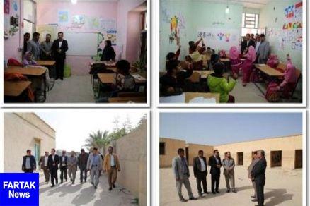 مدارس تخریبی شهرستان تنگستان نوسازی میشوند