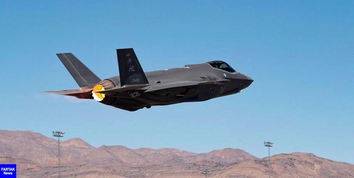 تمرین پرتاب بمب اتمی از سوی جنگندههای «اف-35» نیروی هوایی آمریکا