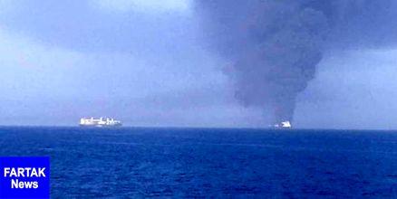 المیادین: یک نفتکش در دریای عمان غرق شد