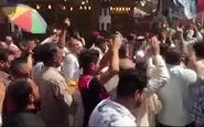 تجدید بیعت عاشقان امیرالمومنین علی (ع) در روز عید غدیر + فیلم