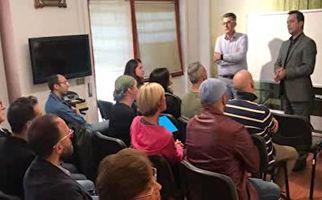گزارش موبایلی معصومینژاد درباره علاقه ایتالیاییها به فراگیری زبان فارسی