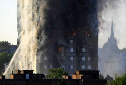 جزییات آتشسوزی مهیب در لندن
