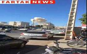 فوری / فیلمی از لحظات پس از انفجار خودرو بمب گذاری شده در چابهار