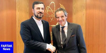 دیدار نماینده دائم ایران در آژانس بین المللی انرژی اتمی با مدیرکل جدید