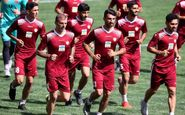گزارش تمرین پرسپولیس/ شعار هواداران در اعتراض به دعوت نشدن شجاع به تیم ملی