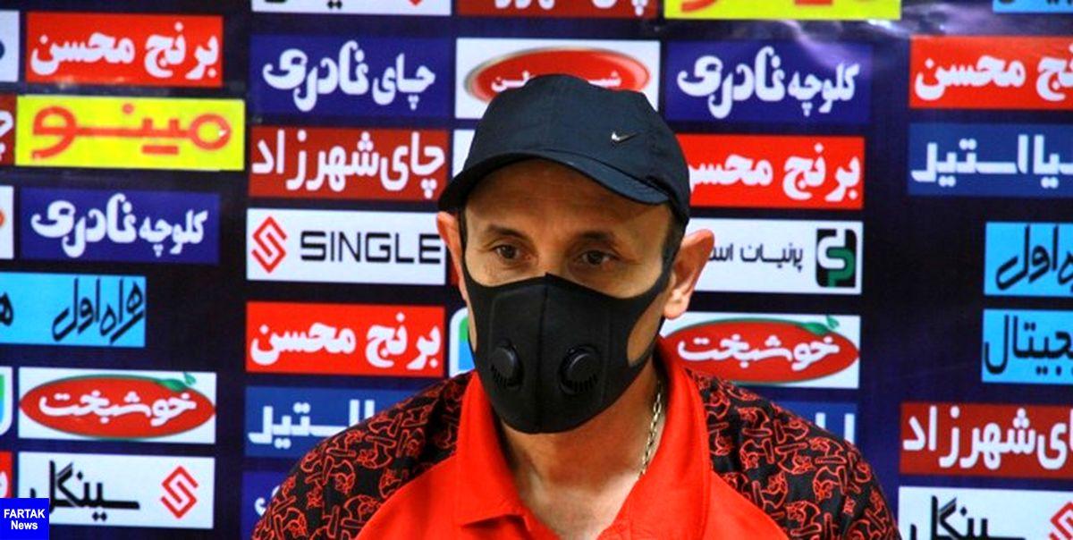 اعلام زمان نشست خبری گلمحمدی قبل از بازی با استقلال تاجیکستان