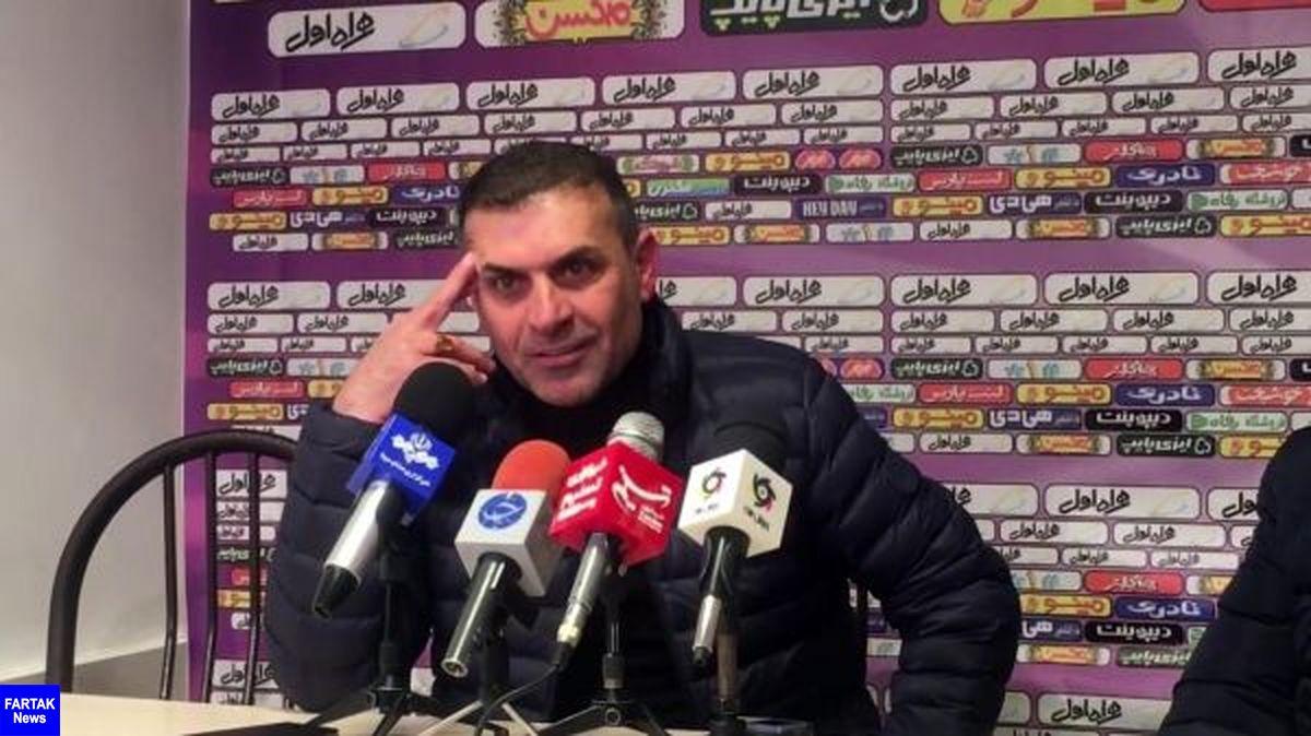 ویسی: به باشگاه پیکان قول ۱۰۰ درصد بقا داده ام/ ر رفتار اسکوچیچ حرفهای نبود