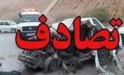 تصادف اتوبوس و پژو در جاده جهرم- لار ۲ کشته داشت