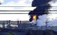 پالایشگاه نفت آبادان آتش گرفت