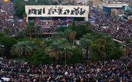 دومین روز تظاهرات گسترده مردم عراق در مخالفت با عناصر خرابکار نفوذی و حامیان آنها