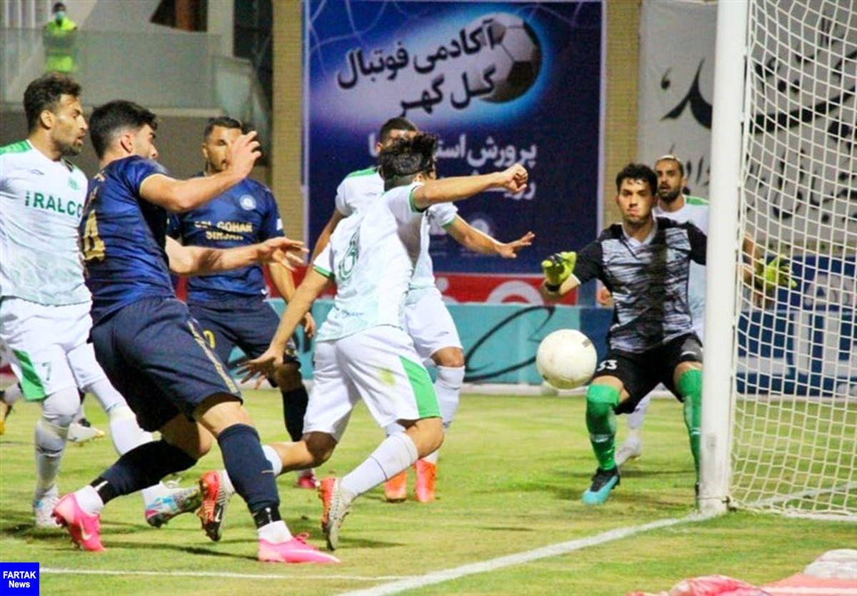 گل گهر با شکست آلومینیوم به مرحله بعد جام حذفی صعود کرد