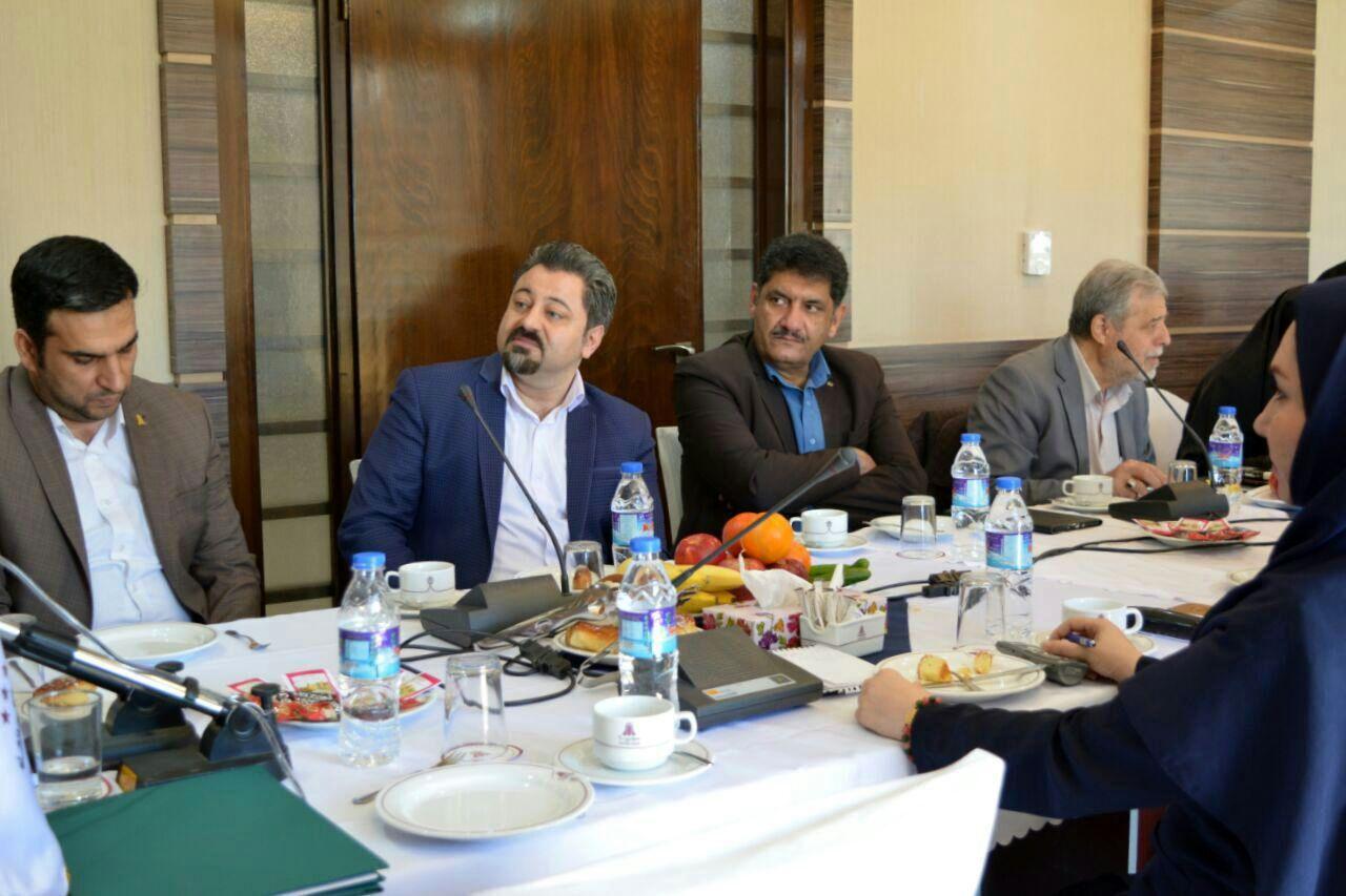 بازدید و نشست مدیرکل شرکت مسافرتی و گردشگری سفر سلامت آلامتو در هتل پارسیان
