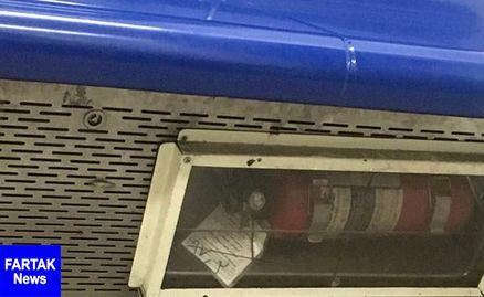 منقضی شدن تاریخ کپسول های آتشنشانی/مترو تهران خطرناک است!