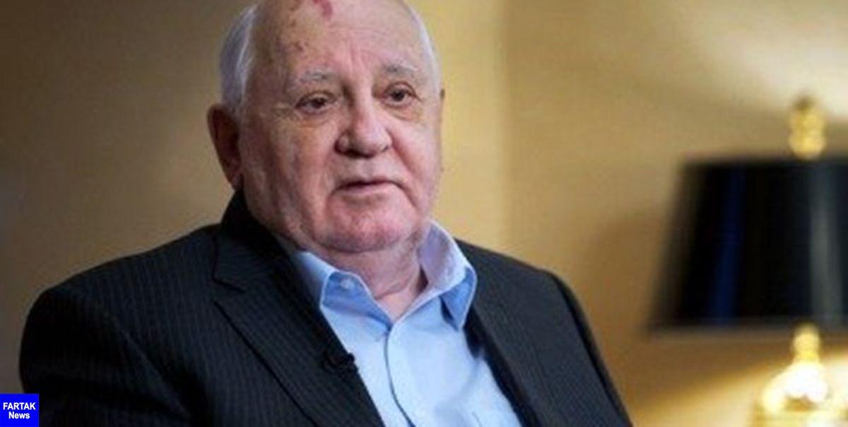 گورباچف: حل اختلاف جمهوری آذربایجان و ارمنستان باید به نفع طرفین باشد