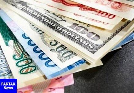 قیمت ارزهای دولتی ۹۷/۱۲/۲۵|نرخ ۲۶ ارز افزایشی شد