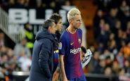 ناراحتی شدید و عجیب والورده از مسئولان بارسلونا
