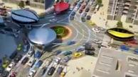 وسایل نقلیه عمومی مدرنی که ترافیک را بیمعنی میکنند + فیلم