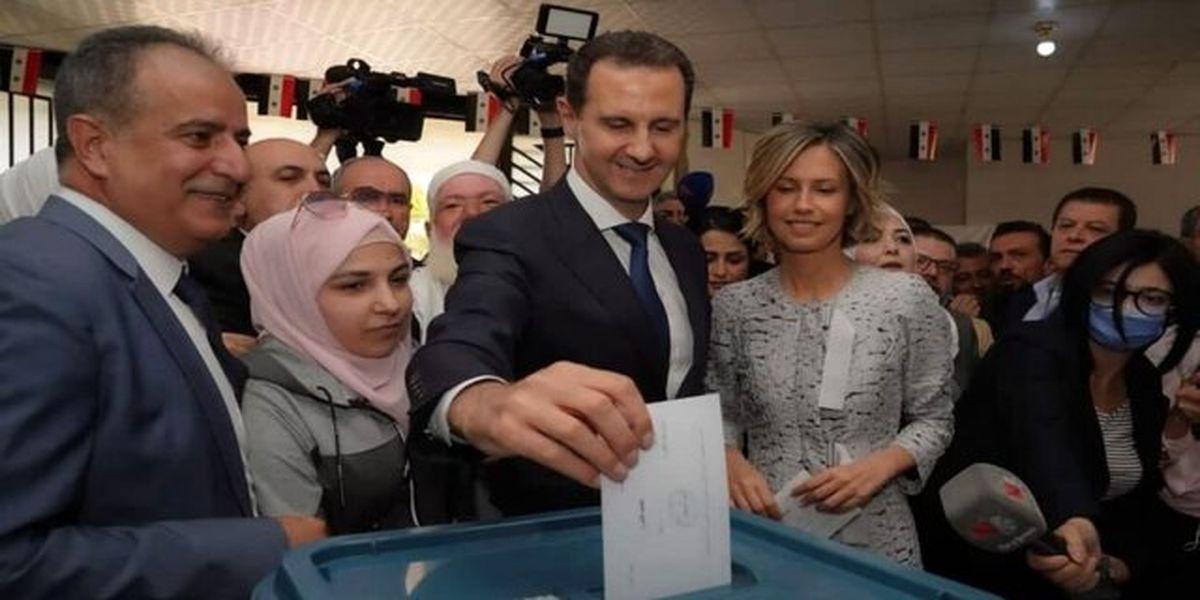 حزبالله لبنان به بشار اسد تبریک گفت