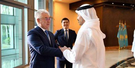 تاکید قزاقستان و امارات متحده عربی بر توسعه بیشتر روابط دوجانبه