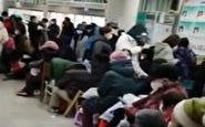 صف طولانی چینیها برای تشخیص بیماری کرونا