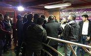اتفاقی عجیب در میکسدزون  ورزشگاه آزادی