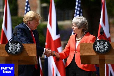 ترامپ قرارداد تجاری با انگلیس را محتمل خواند