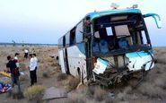 19 مصدوم و کشته در تصادف اتوبوس با کامیون