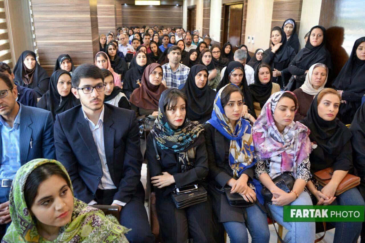 برگزاری فن بیان و سخنوری با حضور استاد محمد علی حسینیان به روایت تصویر