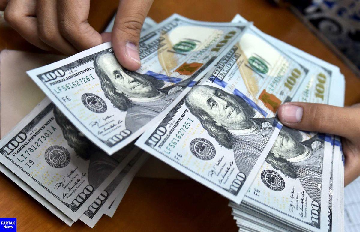 کاهش دوباره ارزش دلار برای سومین روز