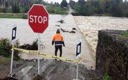تمامی پلهای آبنما در گیلان مسدود شد