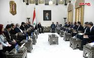 ایران نقش مهمی در حمایت از سوریه ایفا کرد