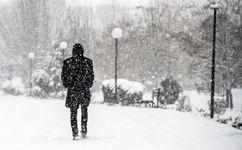 بارش باران و برف در ۶ استان کشور